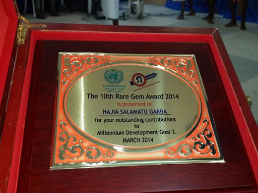 rare gem award